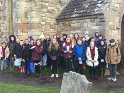 Year 6 visit to Holy Island