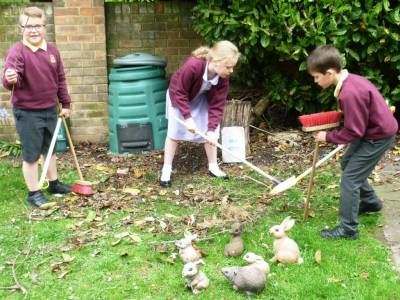 Gardening after school club